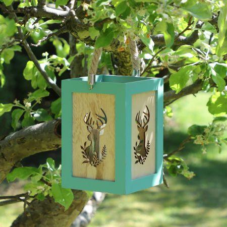 Country Living Stag Garden Lantern