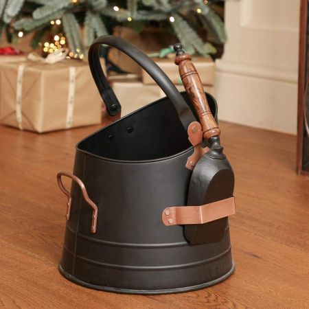 Coal Bucket with Scoop