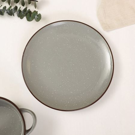 Peppered Grey Side Plate