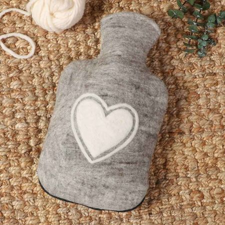 Trade Heart Hot Water Bottle Cover