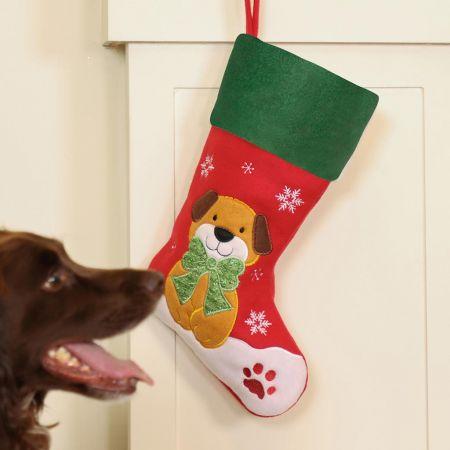 Faithful Friend Dog Pet Stocking