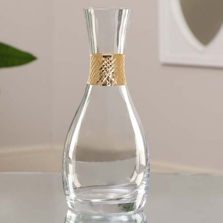 Gold Wine Carafe