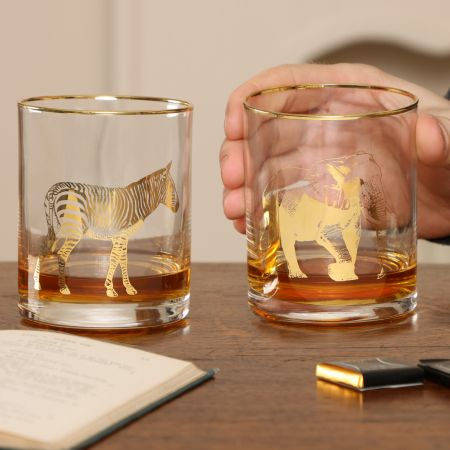 Gentleman's Whiskey Tumbler