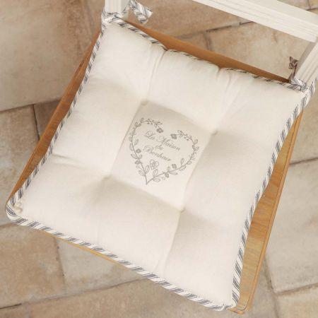 Set of 2 La Maison Bonheur Seat Pads