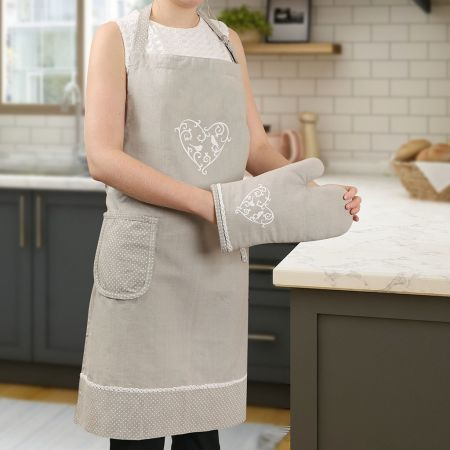 Love Birds French Country Kitchen Apron