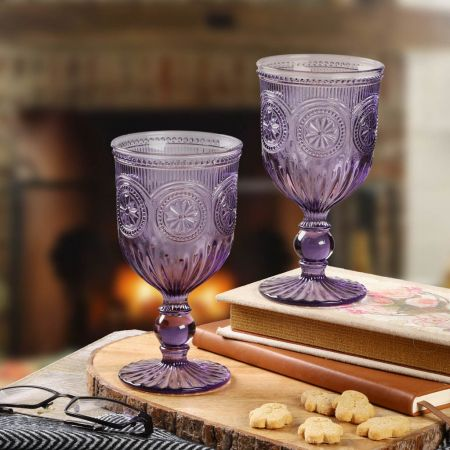 Set of Two Festive Drinks Cups