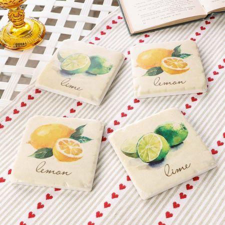Lemon and Lime Coasters