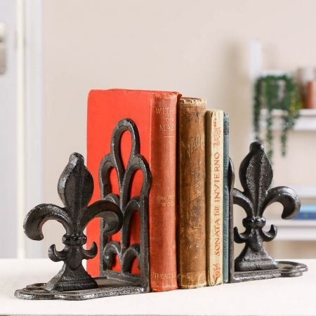 Traditional Cast Iron Book Holders