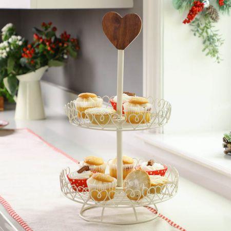vintage cupcake stand