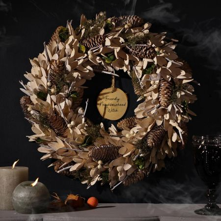 Wooded Witchy Wreath
