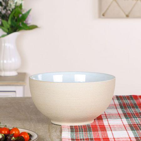 Large Earthenware Serving Bowl
