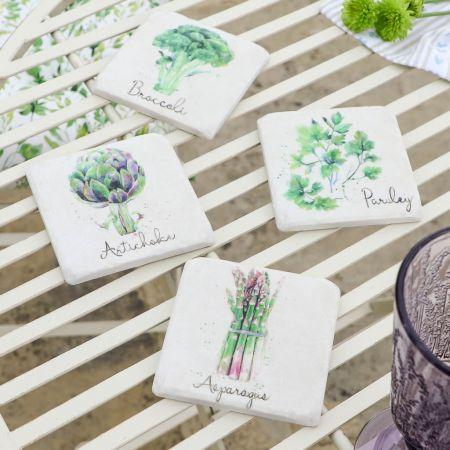 Botanical Allotment Coasters