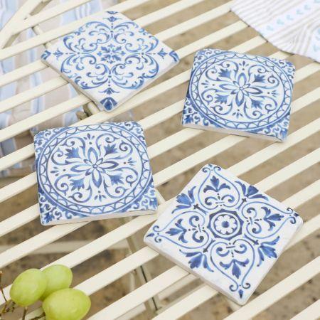 Mediterranean Tile Coasters