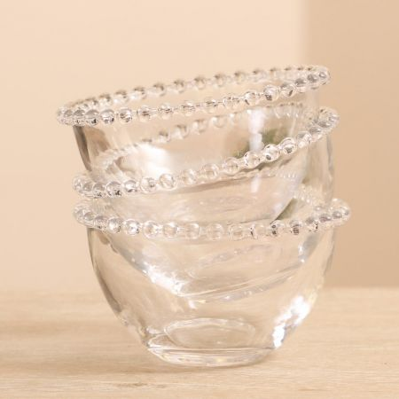 Vintage Glass Bowls and Plates