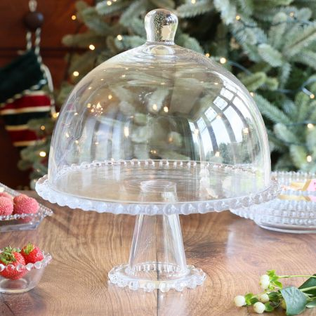 SERVING STAND WITH DOME