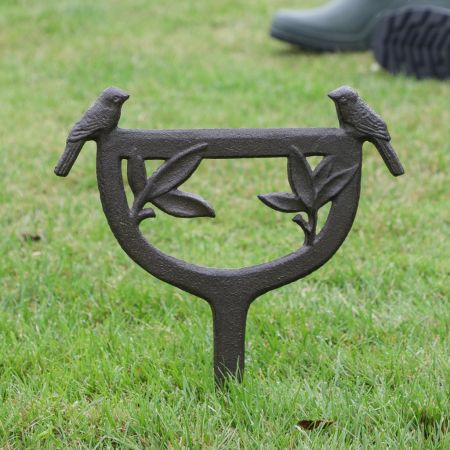 Staked Boot Cleaning Stand