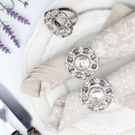 English Rose Napkin Ring