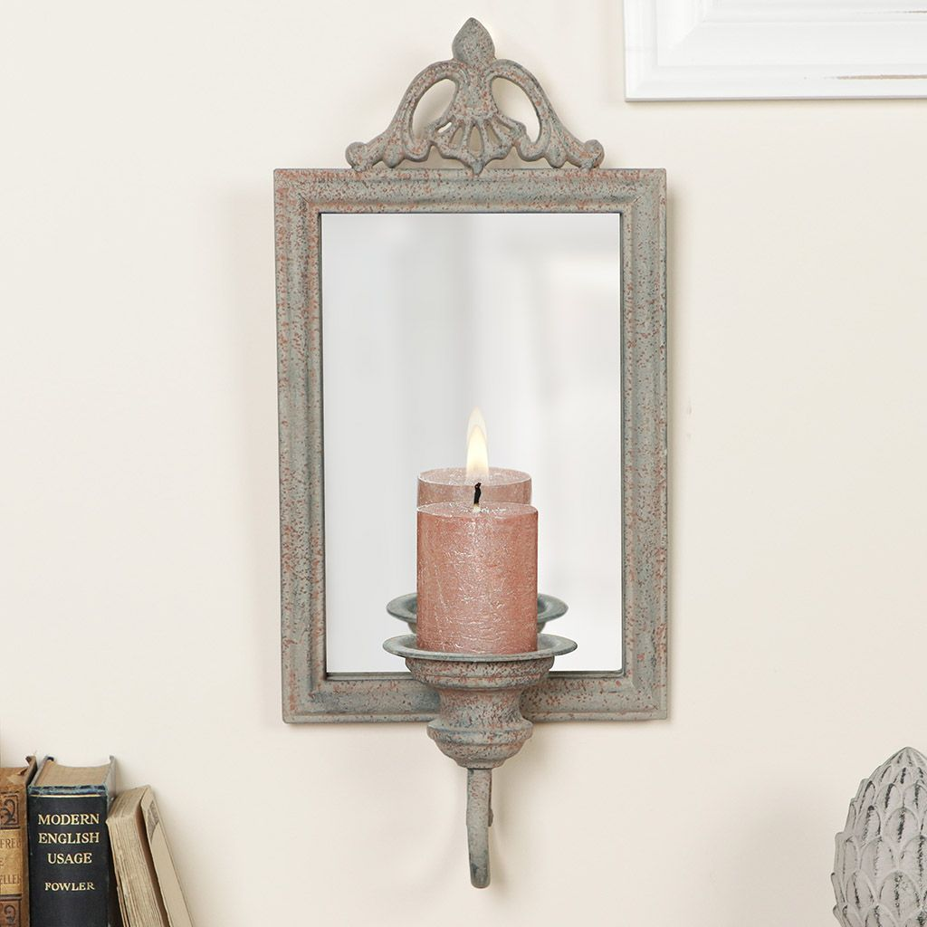 Vintage Wall Mounted Candle Sconce