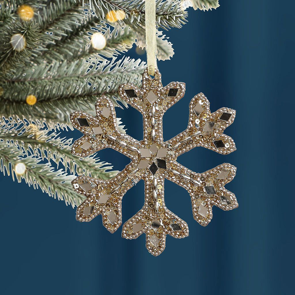 Champagne Gold Tree Ornament
