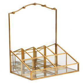 Brass Dressing Table Jewelry Box
