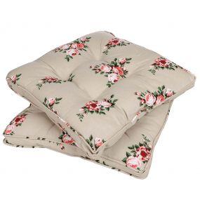 Country Garden Floral Mattress Cushion