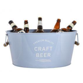 'Craft Beer' Blue Beer Bucket
