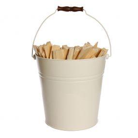 Vintage Ivory Bucket