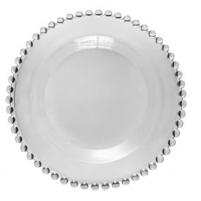 Bella Perle Beaded Glass Side Plate