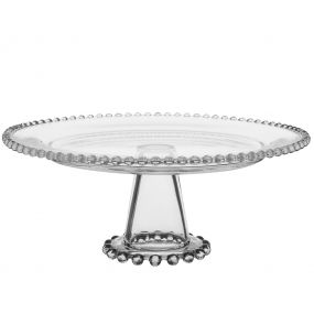 Bella Perle Glass Beaded Cake Stand