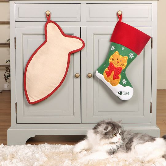 Family Cat Christmas Stockings