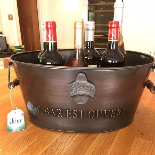 Metal Wine Bottle Cooler