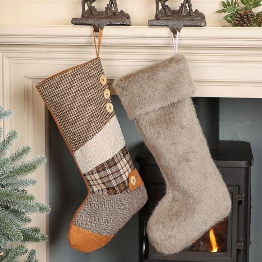 Woodland Bear Country Stocking Collection