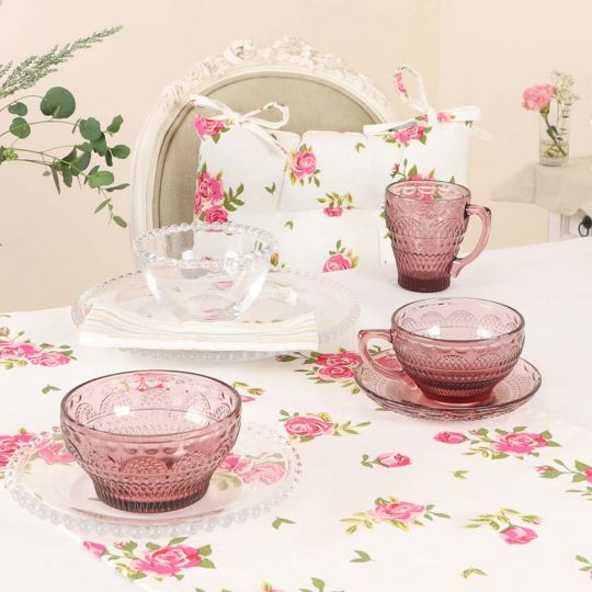 Pink Blush Afternoon Dining Collection