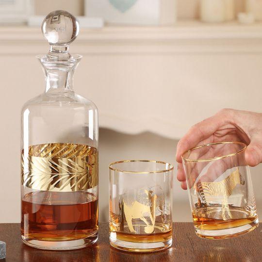 Gold Savanna Whisky Set for Him
