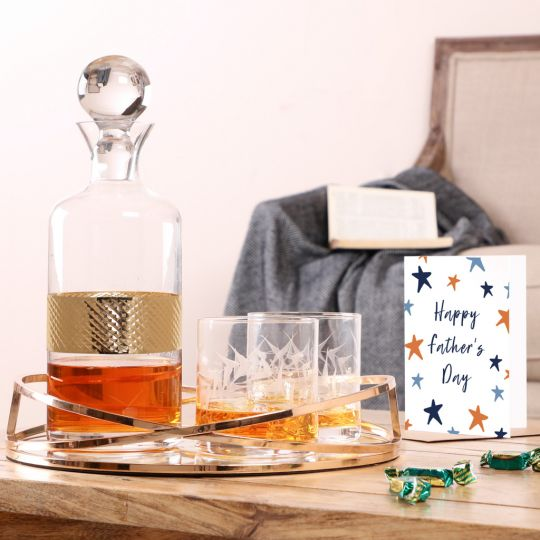 Dad's Favourite Tipple Serveware Gifting