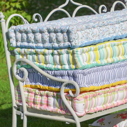 Vintage Print Bench Cushion Collection