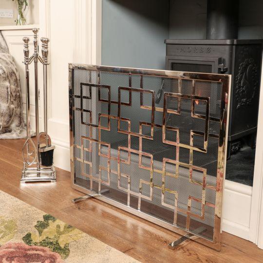 Luxury Nickel Fireside