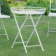Folding Outdoor Butler Tray Table