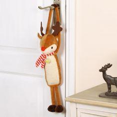 Festive Cat Door Hanger