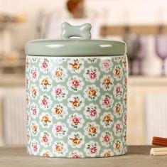 Ditsy Rose Ceramic Treat Jar