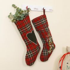 Highland Tartan Christmas Stockings