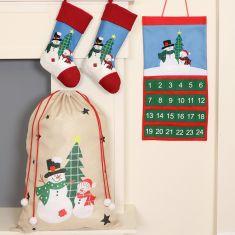 Children's Snowman Christmas Collection