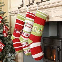 Noel Knitted Holly Christmas Collection