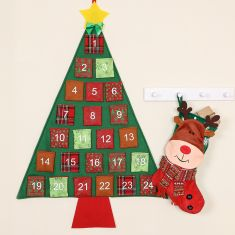 Traditional Christmas Advent and Stockings