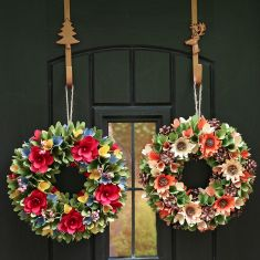 Winter Woodland Preserved Wreath Collection