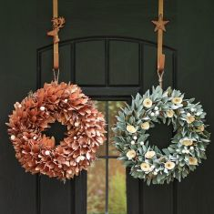 Copper Lambeth Luxe Wreath Collection