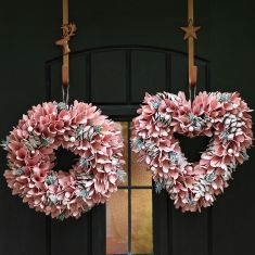 Pink Petal Mindful Living Wreath Collection
