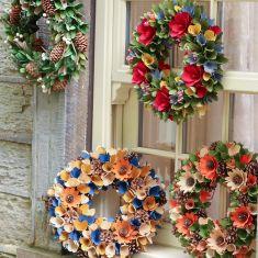 Winter Woodland Mindful Living Wreaths