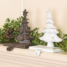 Woodland Pine Christmas Stocking Holders