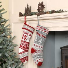 Country Chalet Stockings Collection